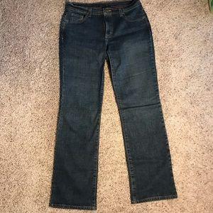 Women's J.Crew dark wash bootcut jeans size 8